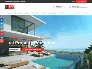 Thai Property Promotion, investir dans l'immobilier en Thaïlande