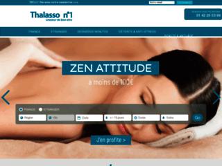 Détails : Thalassothérapie en France avec Thalasso N°1