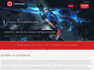 Détails : The Red Target, achetez un compte lol unranked