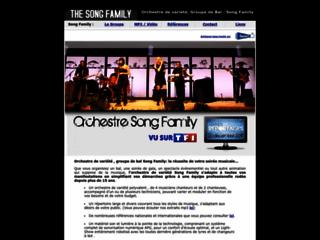 Détails : Song Family l'orchestre de variété internationale