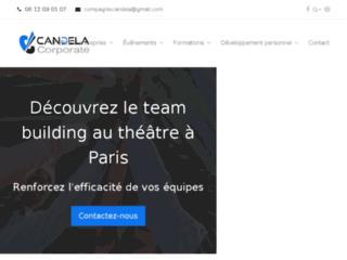 Candela Corporate, spécialiste du théâtre d'entreprise