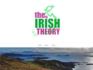 THE IRISH THEORY