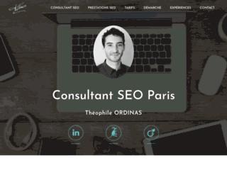 Consultant SEO à Paris