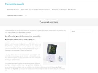 Guide des meilleurs thermomètres connectés