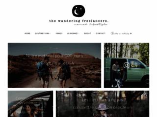 The wandering freelancers : blog informatif dédié aux freelances nomades