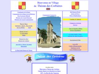 Bienvenue au village de Thezan des Coribières dans l'Aude