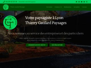 Détails : Thierry Gaulard, paysagiste jardinier artisan