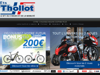 Achat vente de scooters St Etienne 42 - Ets Thollot