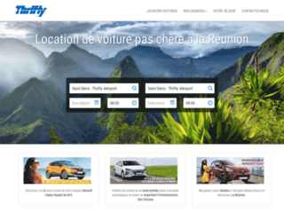 Détails : Thrifty Réunion, l'expert en location de voiture à la Réunion pas cher