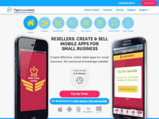 Détails : Tiger App Creator, mobile app creator