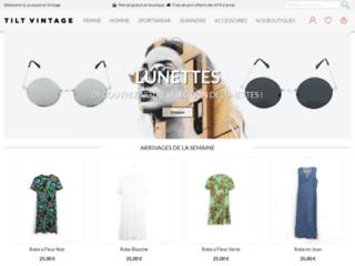 Détails : Tilt Vintage - Vêtements et Accessoires de mode vintage
