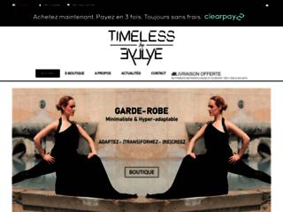 Timeless by Eyllye : la boutique des vêtements transformables