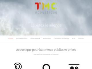 TMC Acoustique, société experte en acoustique pour les bâtiments
