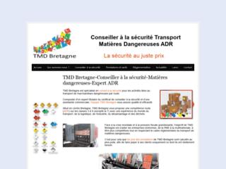 Détails : TMD Bretagne Conseiller à la sécurité ADR