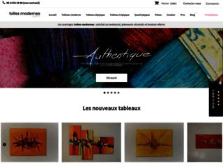 Détails : Tableaux d'art contemporain