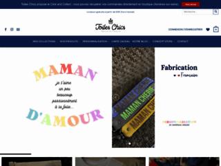 Toiles Chics, vente en ligne d'objets personnalisables