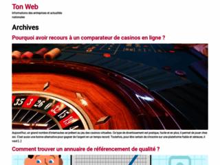 Détails : Annuaire automatique de référencement Ton Web