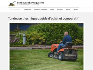 Tondeuse thermique : votre guide pratique
