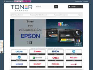 Détails : Consommables imprimantes Toner-Express