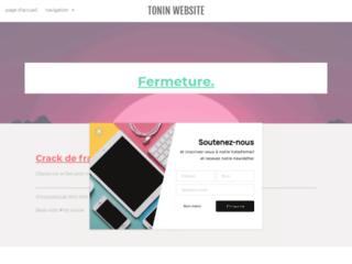 Tonin production