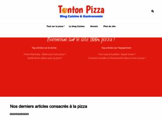 Détails : Tonton pizza : astuces pour bien garnir une pizza