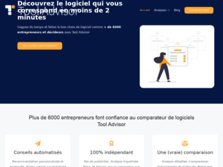 Détails : Tool Advisor, comparateur de logiciel d'entreprise