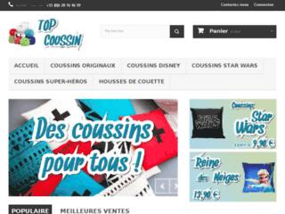 Top Coussin, votre boutique de coussins et taies d'oreillers