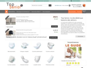 Détails : Couche adulte pour incontinence urinaire - vente couches adulte pour incontinence. - Top senior