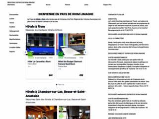 Détails : Office de Tourisme Riom-Limagne, séjour en Auvergne