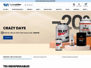 Détails : boutique de vente de compléments alimentaires