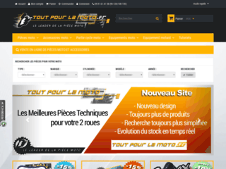 Détails : Tout pour la moto, boutique en ligne