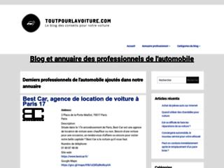Informations et des conseils sur l'automobile