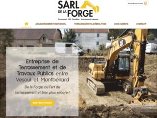 SARL De la Forge, entreprise de travaux publics près de Vesoul