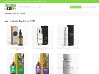 Produits CBD de qualité chez Tradition CBD