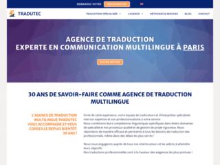 Détails : Agence de traduction Tradutec