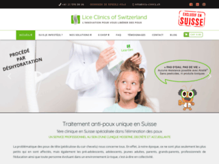 Stop aux poux avec Lice Clinics of Switzerland