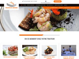 Le site pour y découvrir un traiteur et sa cuisine.