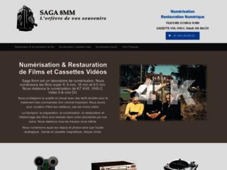 Détails : Saga 8mm, transfert de film sur dvd