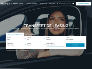 Détails : TransfertLeaz.fr : plateforme de transfert de leasing automobile