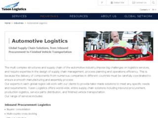 Détails : Transport et logistique