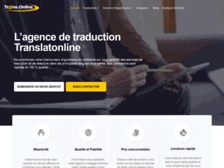 Détails : Agence de traduction anglais