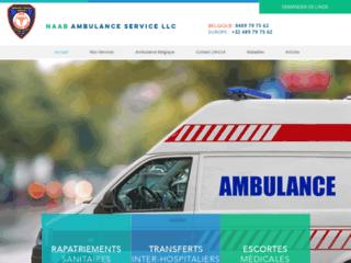 Service d'ambulance en Belgique et dans le monde
