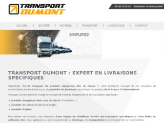 Détails : Transport Dumont, spécialiste des produits dangereux et sensibles