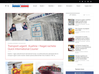 Site OFFICIEL Transporteur.com