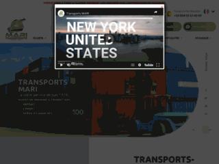 Détails : Transport Mari : spécialiste en transport et transitaire à Nice