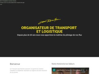 Transports Rouillon, transport par camion