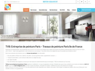 Détails : TVB: Entreprise de peinture Paris - Travaux de peinture Paris