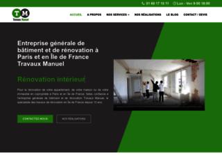 Travaux Manuel, votre entreprise de rénovation