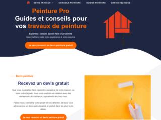 Le site web des travaux de peinture décorative