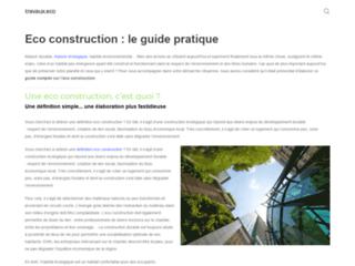 Meilleur guide complet sur l'éco-construction